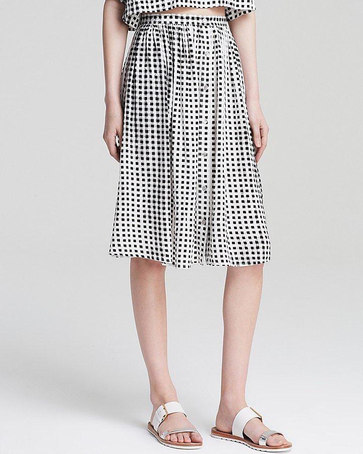 Minkpink Gingham Skirt