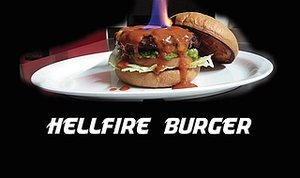 World's Hottest Burger Contender Is, Quite Literally, on Fire
