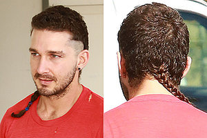Shia LaBeouf Has A Rat Tail, Everyone Go Home Now