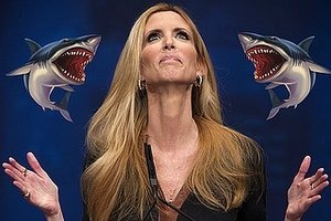 "Ann Coulter Cast In ""Sharknado 3″ As Only Thing Scarier Than Sharknado"