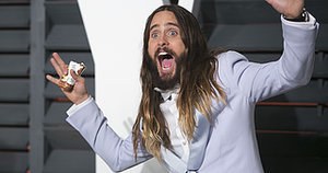 Jared Leto Just Chopped Off His Beautiful Hair for Suicide Squad