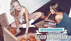 The 10 Commandments Of Being A Good Roommate
