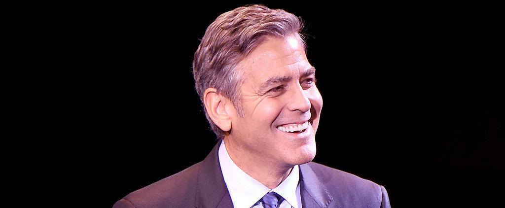 "George Clooney Jokes That Amal Is the ""Smart One"""