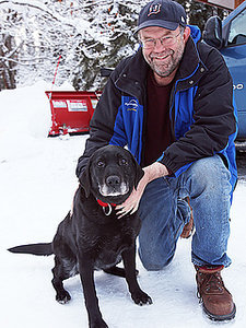 Lost Blind Dog Rescued from Alaskan Wilderness After 2 Weeks in the Cold