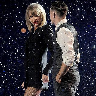 Taylor Swift und eine Limette bei den Brit Awards