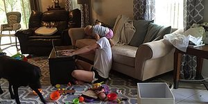 Mom Tries To Work From Home; Effort Thwarted By Toddler