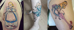 Curiouser and Curiouser: 17 Alice-Inspired Fan Tattoos