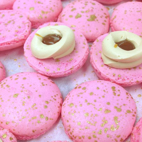 Dana Bakery and Shay Mitchell Salted Buttercream Macarons