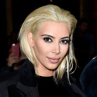Kim Kardashian Goes Blond