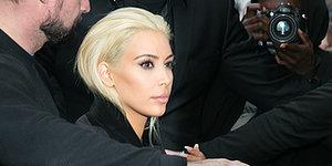 Kim Kardashian Goes PLATINUM