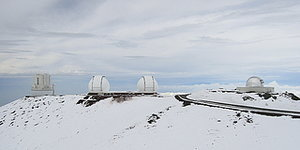 Even Hawaii's Mauna Kea Is Covered In Snow, Aka Winter May NEVER End