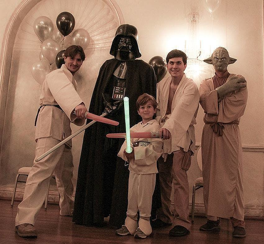 Star Wars Sixth Birthday Party