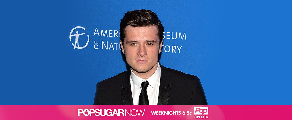 Today on POPSUGAR Now: Josh Hutcherson's Post-Hunger Games Project