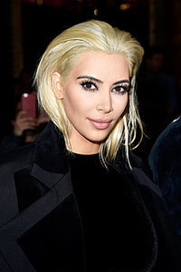 Hair Dare: Kim Kardashian Goes Blonde
