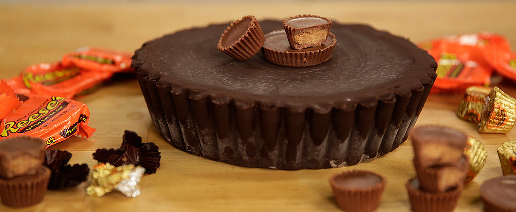 Make a GIANT Peanut Butter Cup