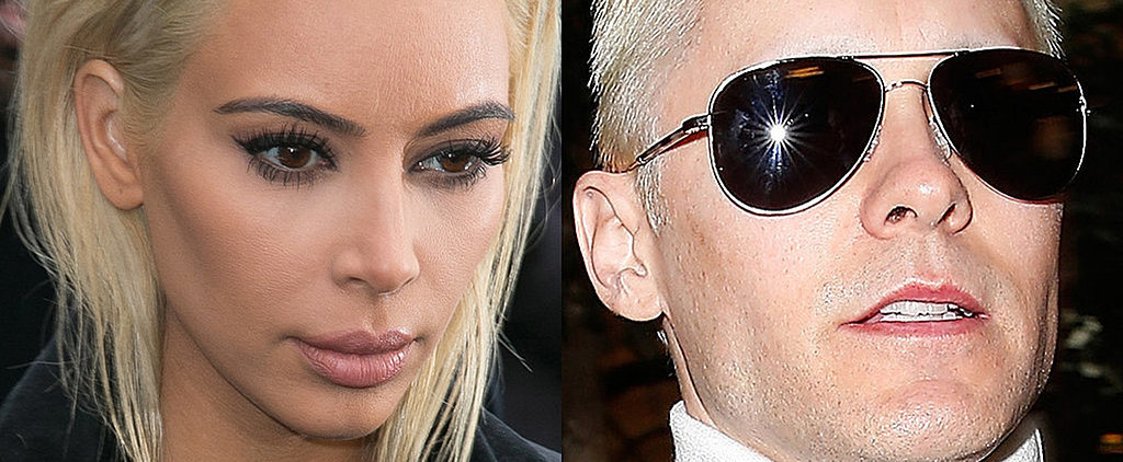 Battle of the Blondes: Jared Leto vs. Kim Kardashian