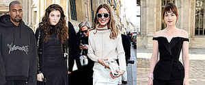 The Front Row at Paris Fashion Week Is Quite The Eclectic Mix