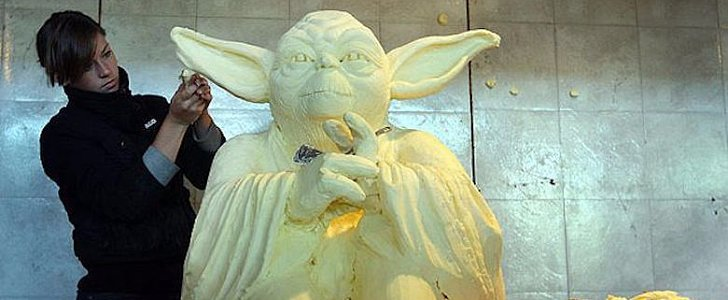 13 Butter Sculptures That Are Seriously Amazing