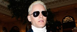 Ah! Now Jared Leto Has a Bleach-Blonde Makeover