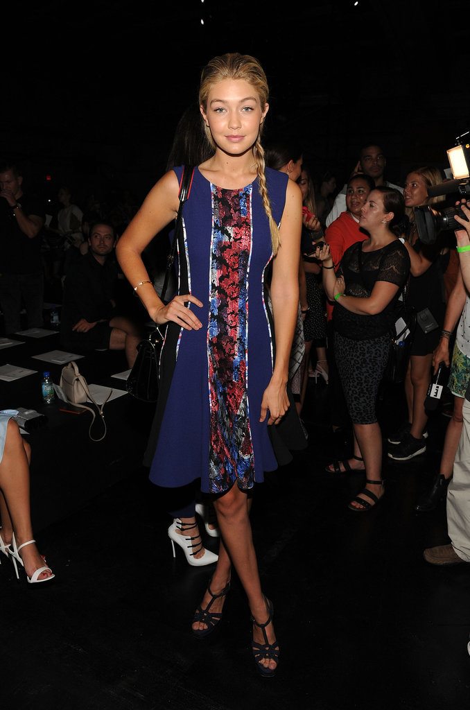 When she went full resort for new york fashion week model of the