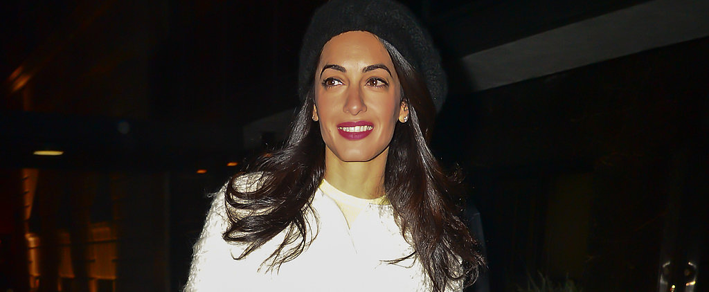 Amal Alamuddin Reminds Us She Will Be a Seriously Hot Professor