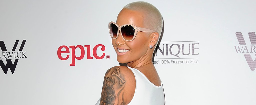 Amber Rose Shuts Down Her Haters With a Lingerie Snap
