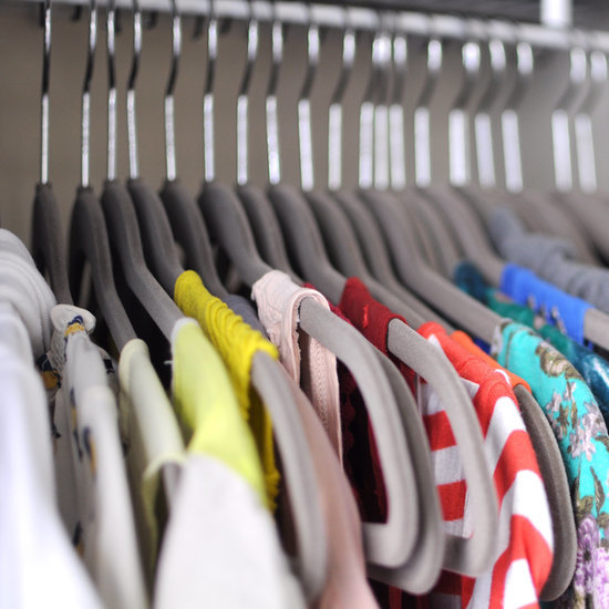 How to clean out your closet popsugar fashion for Best way to organize your closet