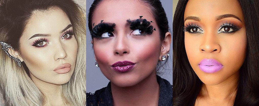 25 Incredible Eyelash Looks That'll Make You Do a Double Take