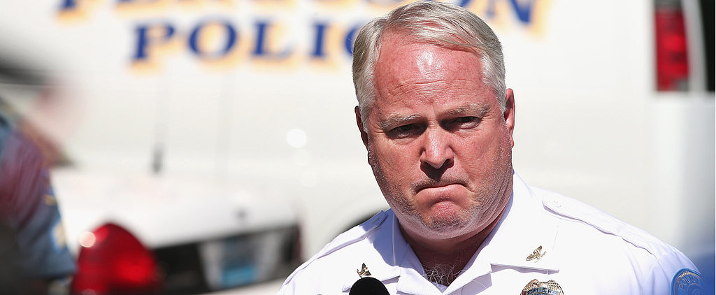 The Ferguson Police Chief Is Reportedly Resigning