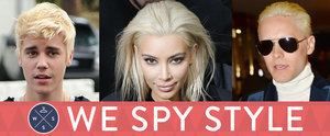 We Spy: Kim Kardashian, Justin Bieber, and More of the Craziest Blond Makeovers