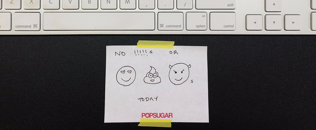The Surprising Thing That Happens When You Give Up Exclamation Points For a Day