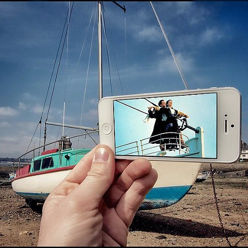 Artist Uses iPhone to Re-Create Movie Scenes
