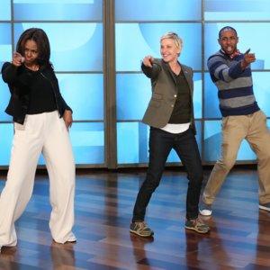Michelle Obama Dances on The Ellen DeGeneres Show