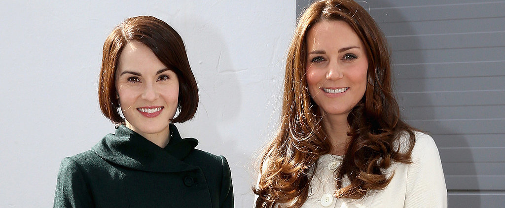 Kate Middleton's Downton Abbey Outfit Is a Royal Win