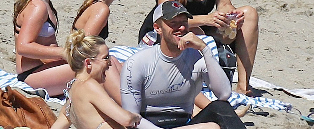Kate Hudson Bares Her Bikini Body During a Beach Day With Chris Martin
