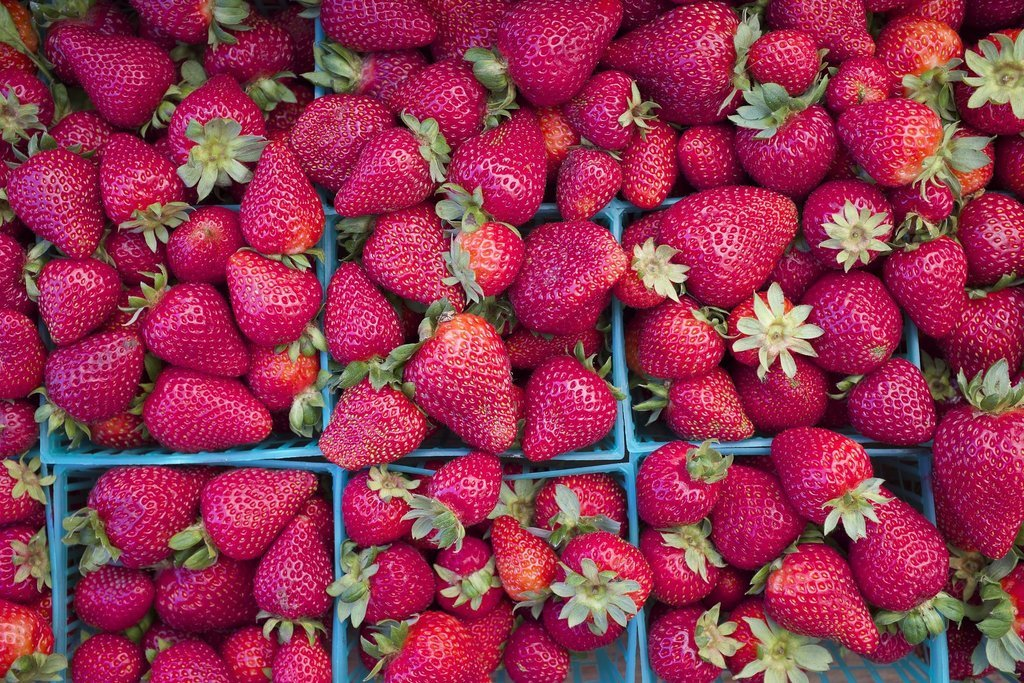 The Spring Food: Strawberries