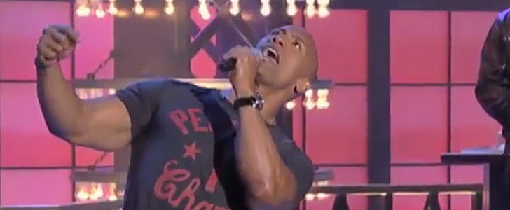"The Rock Really Nails This Lip Sync to Taylor Swift's ""Shake It Off"""