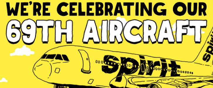 Spirit Airlines Gets Downright Dirty With $69 Plane Tickets