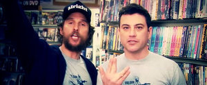 Watch Matthew McConaughey and Jimmy Kimmel's Video Store Commercial