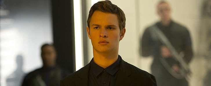 Insurgent's Ansel Elgort Wants You to Know That He Doesn't Run Like Caleb