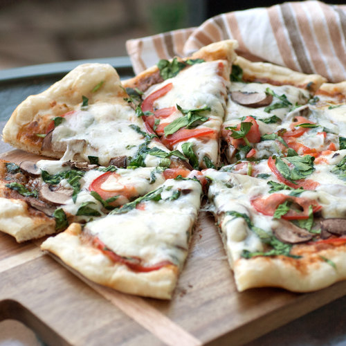 from sarah lipoff popsugar food grilled pesto pizza ingredients pizza