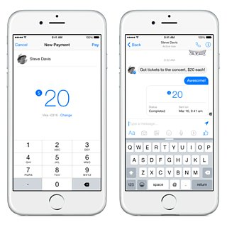 Facebook Unveils Messenger Payment Tool