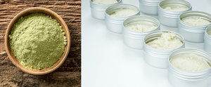 DIY Your Own All-Natural Green Tea Body Butter