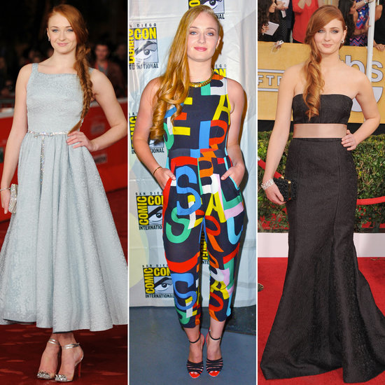Sophie Turner, Sansa From Game of Thrones' Best Outfits