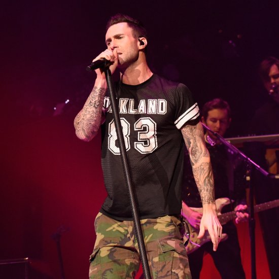 Adam Levine Hits Girl With Microphone During Maroon 5 Show