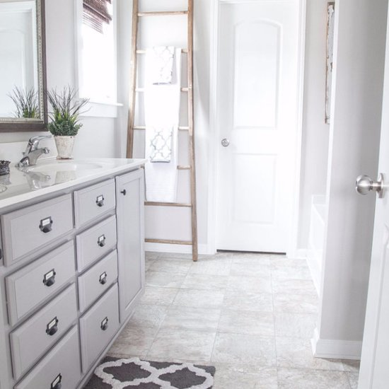 Rustic Bathroom Makeover