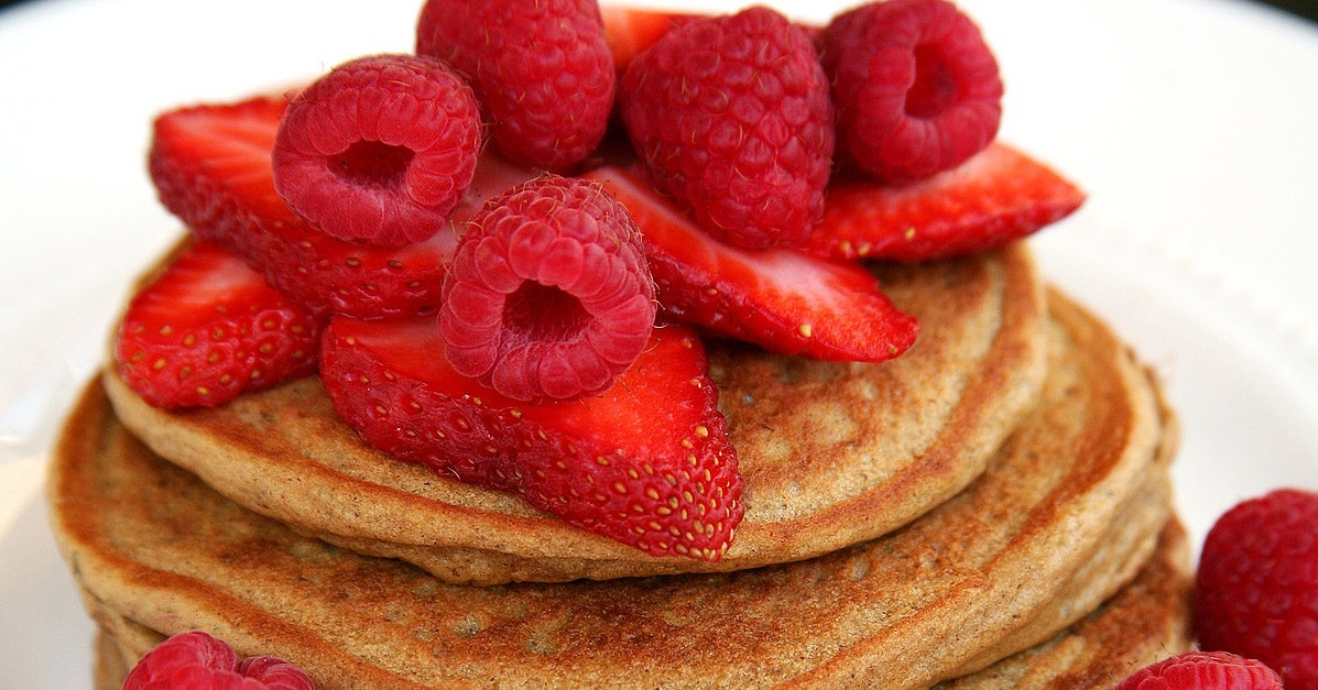 "Stacked With Protein: Vegan Gingerbread ""Buttermilk"" Pancakes ..."