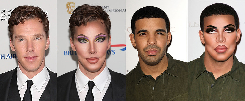 Your Favorite Celebrities Just Got Photoshopped Drag Queen Makeovers
