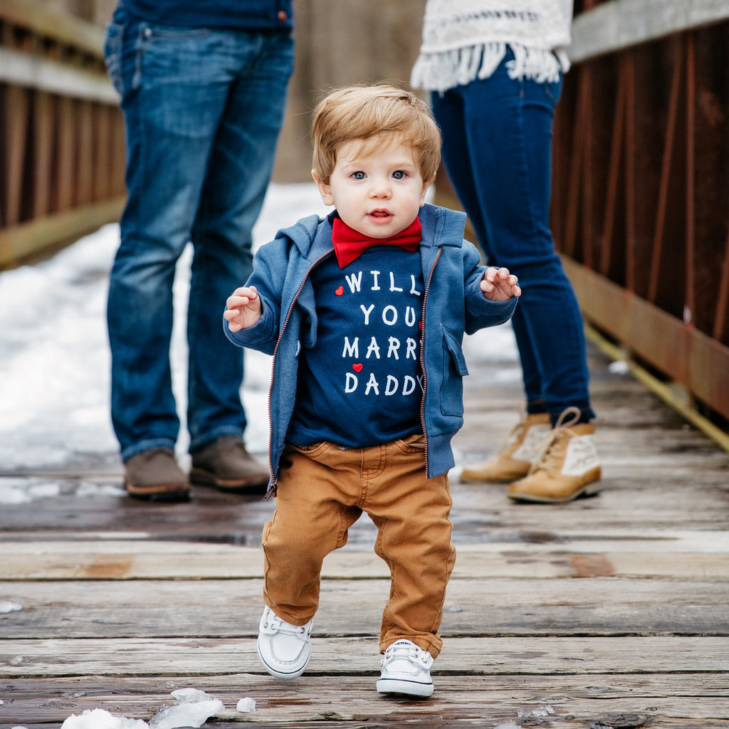 Will You Marry Daddy Baby Proposal