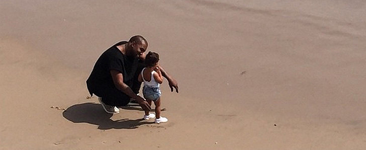 North West Didn't Need a Bikini to Steal the Spotlight at the Beach